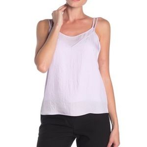 Vince MultiLayered Grey Cami Size Small